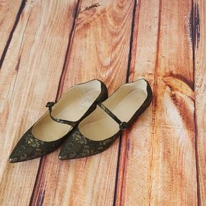 MARC FISHER MARY JANE FLAT SHOES